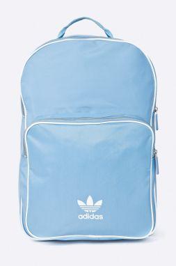 Svetlomodrý batoh s potlačou adidas Originals značky adidas ... d79c2fc1254