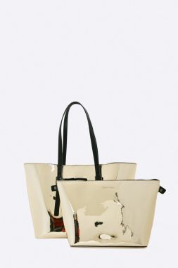 Calvin Klein Jeans - Kabelka Zone Medium Shopper Metalic