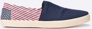 Toms - Topánky CANVAS FLAG MENS AVALON SNEAKE