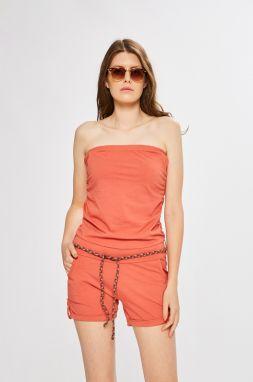 1f8228197ff1 Oranžové dámske krátke overaly - Lovely.sk