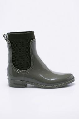 Čižmy do dažďa Tommy Hilfiger CORPORATE BELT RAIN značky Tommy ... 89cb5e9691c