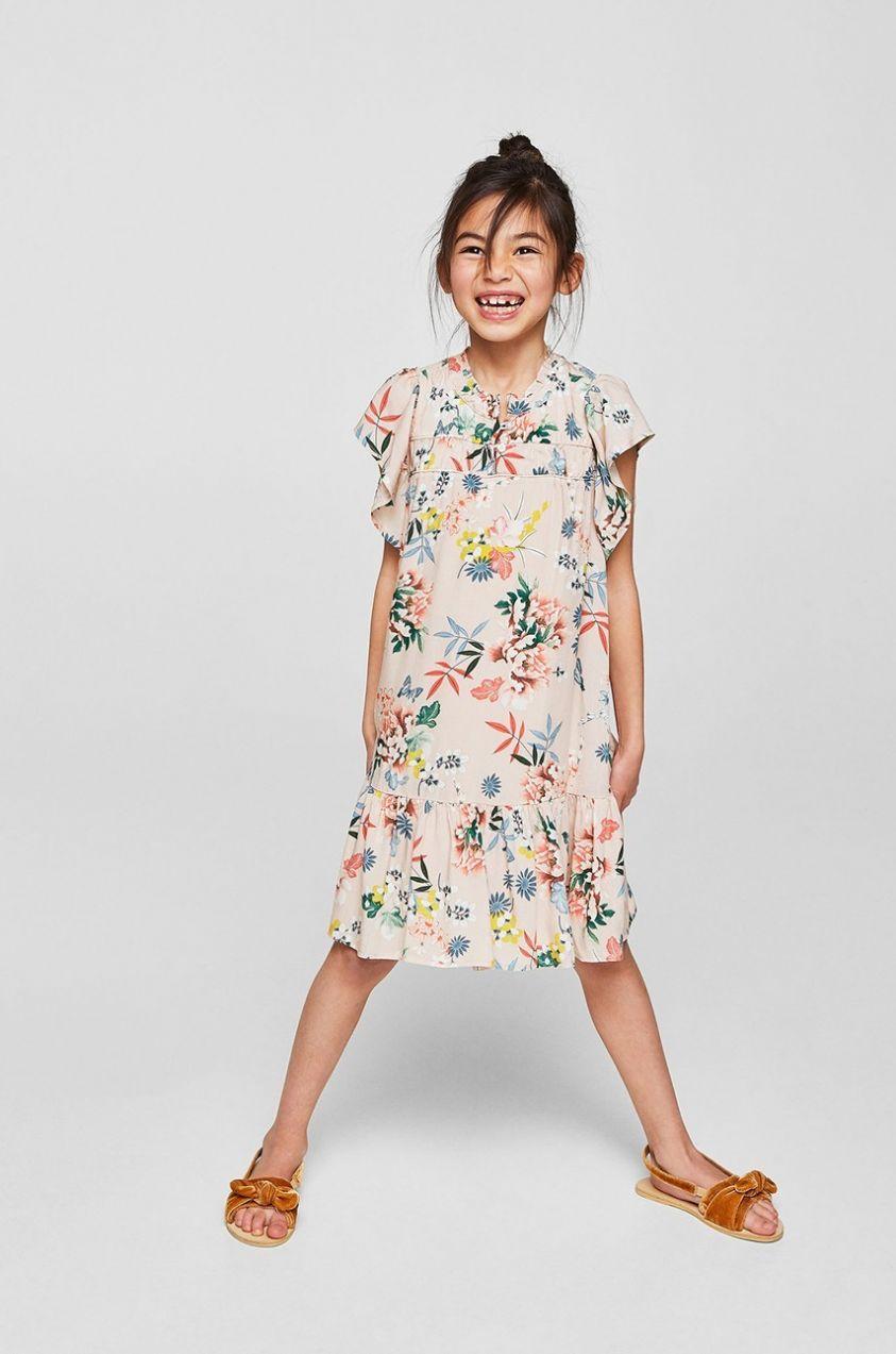 eaee5a48453d Mango Kids - Dievčenské šaty Marieta 110-164 cm značky Mango Kids -  Lovely.sk
