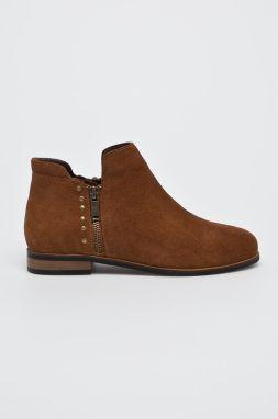 5563582738 Dámska členková obuv z brúsenej kože značky Baťa - Lovely.sk