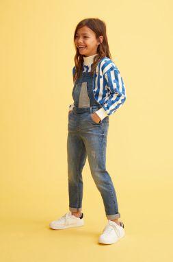 f12d0ac194e4 Mango Kids - Detské nohavice na traky 110-164 cm značky Mango Kids ...