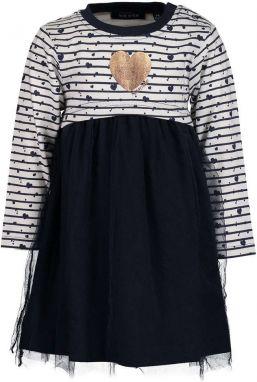 9faab6eee570 Biele dievčenské šaty s čipkovaným topom Blue Seven značky Blue ...
