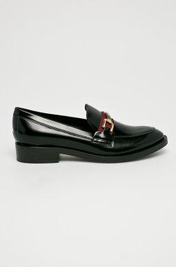 f4dad3a74ab5 Čierne dámske mokasíny so strapcami Geox Thymar značky Geox - Lovely.sk