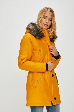 Žltá dámska funkčná dlhá zimná bunda Horsefeathers Chipy značky ... 1aa4546c20b