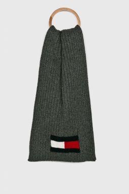 Sivý pánsky šál Tommy Hilfiger značky Tommy Hilfiger - Lovely.sk c29a3a60417