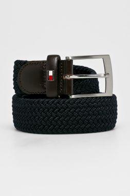 3f85a6439b Tommy Hilfiger modro-červený pánsky opasok Adan Stp Belt 3.5 značky ...