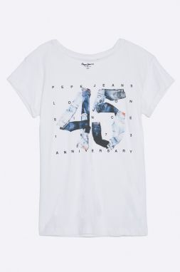 Pepe Jeans - Detský top Anniversary 122-176 cm