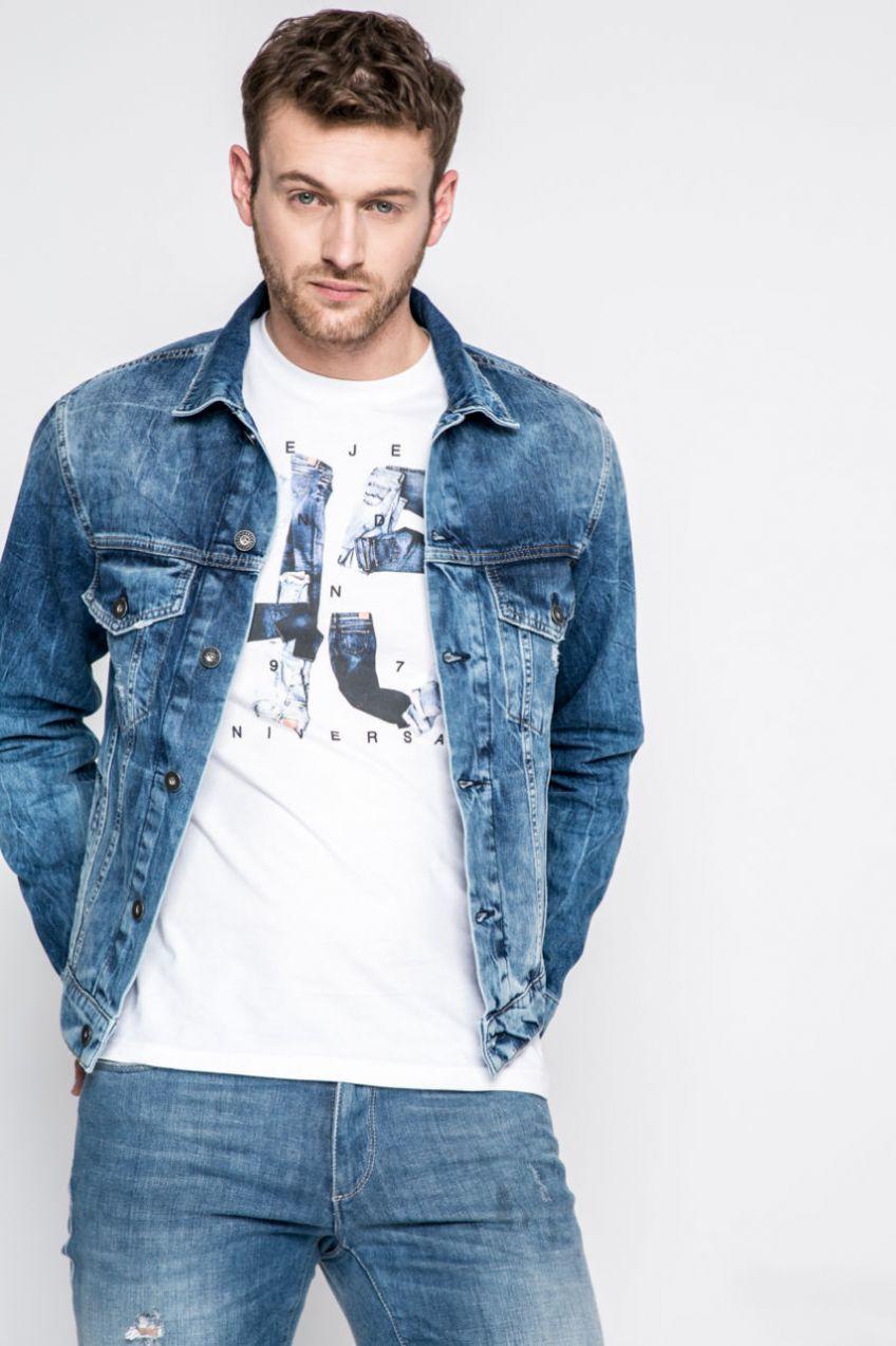 Pepe Jeans - Bunda Pinner značky Pepe Jeans - Lovely.sk 49c47fd99fb