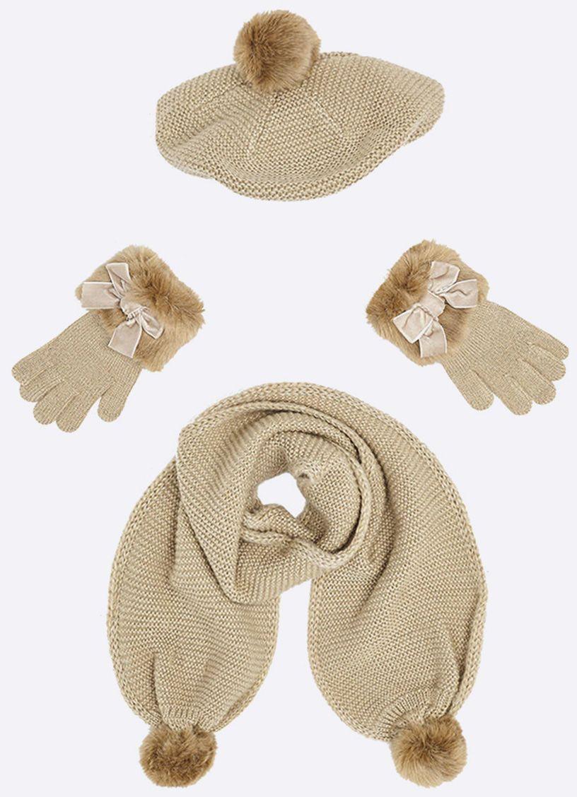 db7ccf05b Mayoral - Detská súprava (čiapka+šál+rukavice) značky Mayoral - Lovely.sk