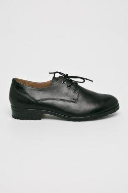 6a74260ff2e6b Oxfordy TOMMY HILFIGER - Manon 4A FW0FW02622 Black 990 značky Tommy ...