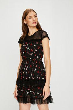 f44fc4f95b63 Eidos Dámske šaty DRESS 96 Šaman BLACK značky Eidos - Lovely.sk