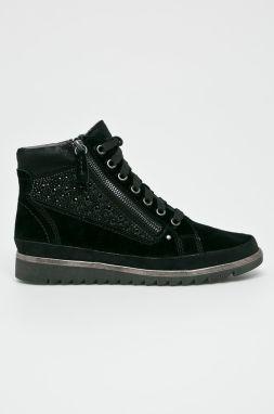 Členková obuv JANA - 8-25262-21 Black 001 značky Jana - Lovely.sk b2c8f428cd