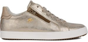 44ec2887e40f Slip-on John-C Zlaté topánky na vysokej platforme s flitrami CORRA ...