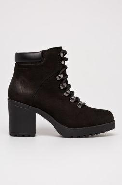 d306283938d8 Čierne dámske kožené členkové topánky Vagabond Amina značky Vagabond ...