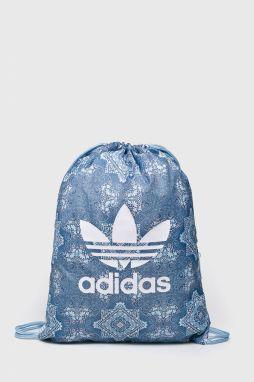 4c7180c5d1 Bielo-modrý vzorovaný unisex batoh adidas Originals značky adidas ...