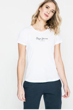 Tričká s krátkym rukávom Pepe jeans PETRA značky Pepe Jeans - Lovely.sk 10b4066042