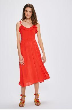 3c5f09adc2fd Letné šaty dámske s opaskom Koucla in-sat1317re - Lovely.sk
