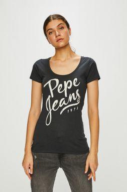 Pepe Jeans Tričko »LARA« (2 ks) Pepe jeans modrá+biela - N-veľkost ... e308999f97