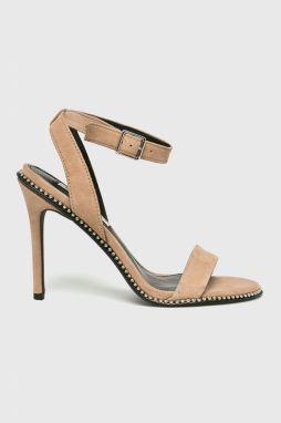 6829db3527eeb Sandále STEVE MADDEN - Carrson Sandal 91000008-0W0-10003-11002 Sand ...