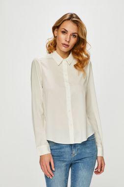 bce46290b332 Biela vzorovaná body košeľa Vero Moda Lady značky Vero Moda - Lovely.sk