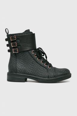 Čierne zimné čižmy s umelou kožušinou Tamaris značky Tamaris - Lovely.sk 65c1ca16515