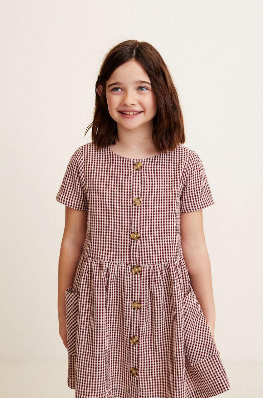 ce73e2d1bcff Mango Kids - Dievčenské šaty Bella 110-164 cm značky Mango Kids ...