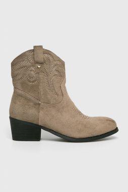 04e24366d0b2 Dámske žlté kožené zimné topánky na opätku Timberland Allington 6 ...