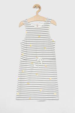 b515c4a4003f Pinokio Dievčenské šaty s mašľou - biele značky Pinokio - Lovely.sk