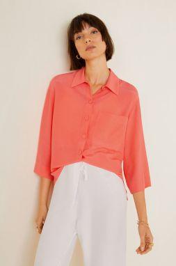 a5c94299b223 Modro-červená dámska károvaná košeľa Roxy Heavy Feeling značky Roxy ...
