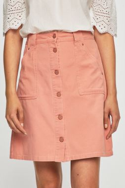 718fc8ad14f3 Čierno-ružová pruhovaná puzdrová sukňa Noisy May Lina značky Noisy ...