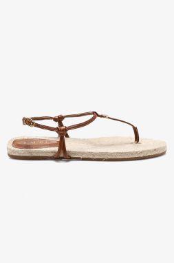 cf0a38bc53f0 Čierno-hnedé dámske kožené sandále s uzavretou špičkou Camper Twins ...