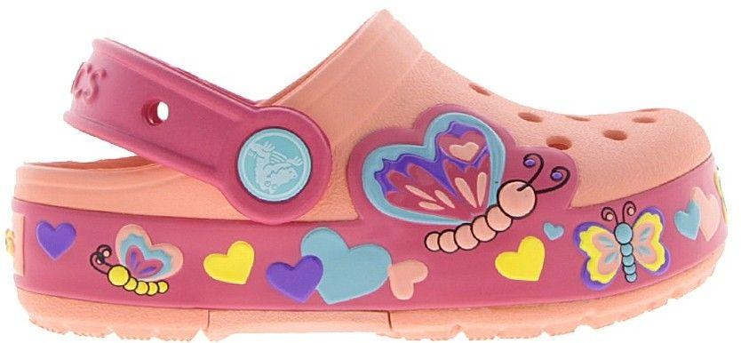 Crocs - Dětské pantofle Butterfly značky Crocs - Lovely.sk fb39b8f7c2