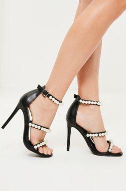 89a9d2fe57ad Čierne sandále na platforme MISSGUIDED značky Missguided - Lovely.sk