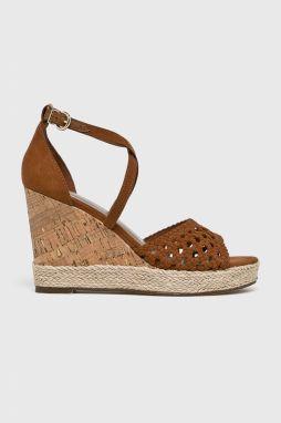 8f04bca4049a5 Sandále TAMARIS - 1-28030-32 Cognac Leather 348 značky Tamaris ...