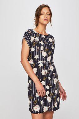 0d9f7225e449 Tmavozelené bodkované zavinovacie šaty VERO MODA Henna značky Vero ...