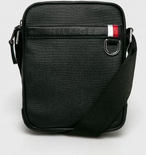 01f0494fb0 Čierna pánska crossbody taška s nápisom Tommy Hilfiger značky Tommy ...