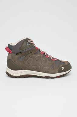 Jack Wolfskin - Topánky Rocksand Texapore Mid