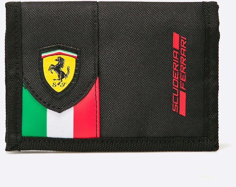 Puma - Peňaženka Ferrari Fanwear Wallet Black značky Puma - Lovely.sk bad3f2ec700