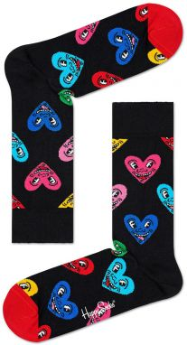 Happy Socks - Ponožky Keith Haring Heart
