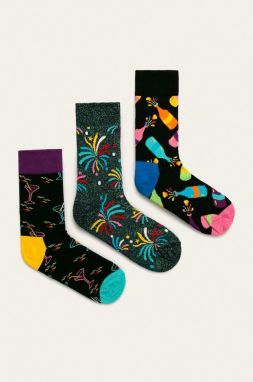 Happy Socks - Ponožky New Year's Gift Box