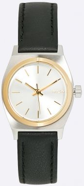 Nixon - Hodinky Small Time Teller Silver/Gold/Black