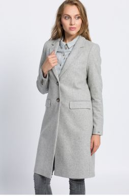 Tommy Hilfiger - Kabát New Thea Wool Classic Coat