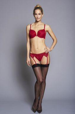 Change Lingerie - Pančuchový pás Suspender Cherry by Britney Spears