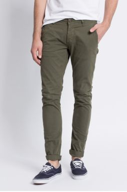 Only & Sons - Nohavice Tarp Chino Olive Night