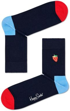 Happy Socks - Ponožky Embroidery Strawberry