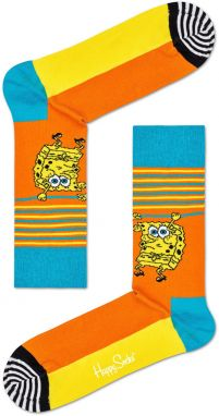 Happy Socks - Ponožky Lets Wort It Out x Sponge Bob