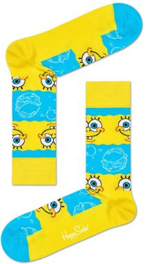 Happy Socks - Ponožky x Sponge Bob Say Cheese Burger